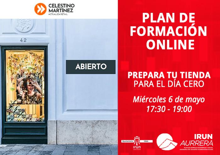 Plan de formación online: prepara tu tienda para el día cero