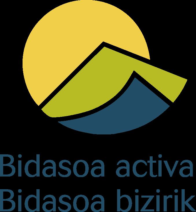 Logo Bidasoa Activa Vertical