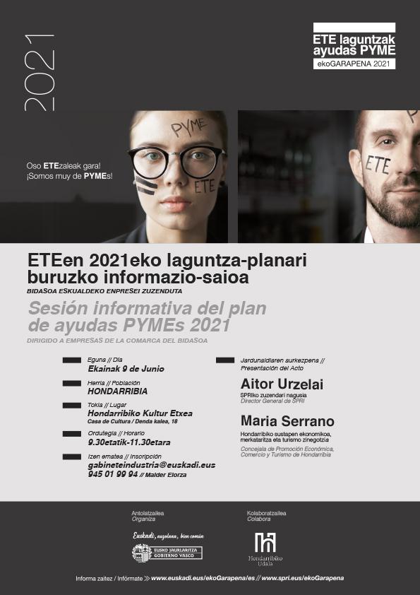 Informazio Saioa Bidasoako Enpresekin Sesion Informativa Ayudas Empresas Del Bidasoa